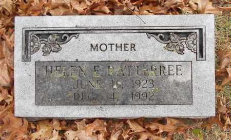 RATTERREE, HELEN ELIZABETH - Texas County, Missouri | HELEN ELIZABETH RATTERREE - Missouri Gravestone Photos