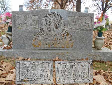 RAY, ALLIE FLORENCE - Texas County, Missouri | ALLIE FLORENCE RAY - Missouri Gravestone Photos