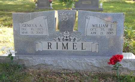 ARCHER RIMEL, GENEVA AILENE - Texas County, Missouri   GENEVA AILENE ARCHER RIMEL - Missouri Gravestone Photos