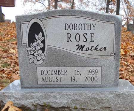 ROSE, DOROTHY - Texas County, Missouri   DOROTHY ROSE - Missouri Gravestone Photos
