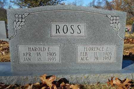 ROSS, FLORENCE EUGENIA - Texas County, Missouri | FLORENCE EUGENIA ROSS - Missouri Gravestone Photos