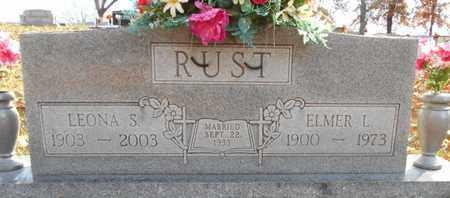 RUST, ELMER LEE - Texas County, Missouri | ELMER LEE RUST - Missouri Gravestone Photos