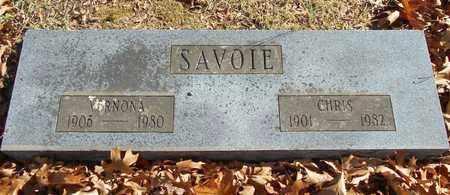 SAVOIE, CHRIS - Texas County, Missouri   CHRIS SAVOIE - Missouri Gravestone Photos