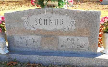 SCHNUR, PAUL N. - Texas County, Missouri | PAUL N. SCHNUR - Missouri Gravestone Photos