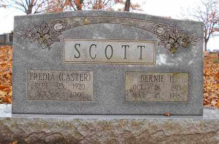 SCOTT, BERNIE H. - Texas County, Missouri | BERNIE H. SCOTT - Missouri Gravestone Photos