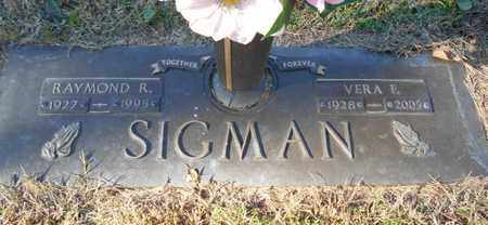 SIGMAN, RAYMOND RAY - Texas County, Missouri | RAYMOND RAY SIGMAN - Missouri Gravestone Photos