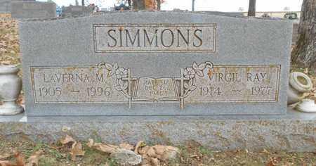 SIMMONS, LAVERNA M. - Texas County, Missouri | LAVERNA M. SIMMONS - Missouri Gravestone Photos