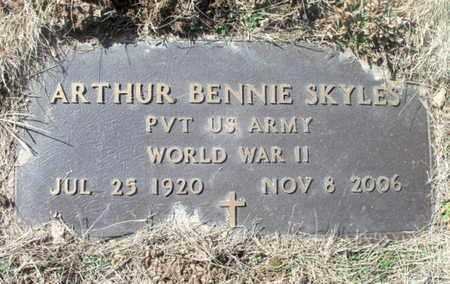 SKYLES, ARTHUR BENNIE COMBS VETERAN WWII - Texas County, Missouri | ARTHUR BENNIE COMBS VETERAN WWII SKYLES - Missouri Gravestone Photos