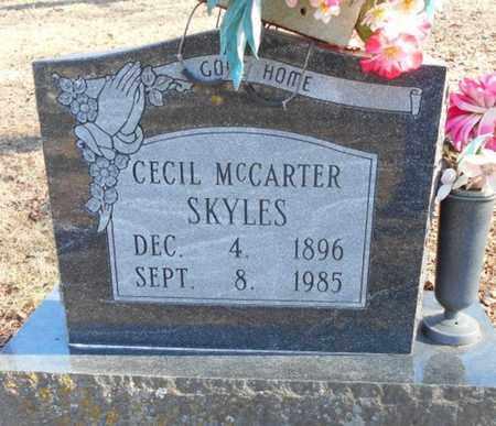 SKYLES, CECIL MAE - Texas County, Missouri   CECIL MAE SKYLES - Missouri Gravestone Photos