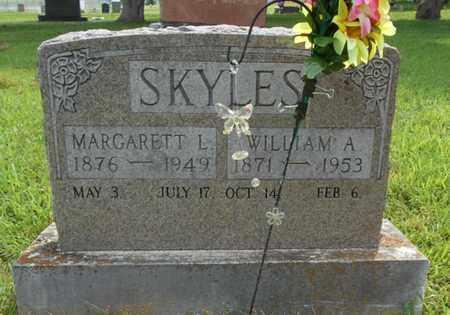 SKYLES, WILLIAM ANTHONY - Texas County, Missouri | WILLIAM ANTHONY SKYLES - Missouri Gravestone Photos
