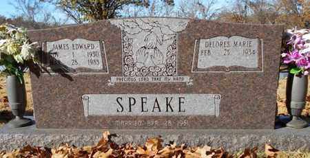 SPEAKE, JAMES EDWARD - Texas County, Missouri   JAMES EDWARD SPEAKE - Missouri Gravestone Photos