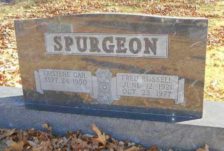 SPURGEON, FRED RUSSELL - Texas County, Missouri | FRED RUSSELL SPURGEON - Missouri Gravestone Photos