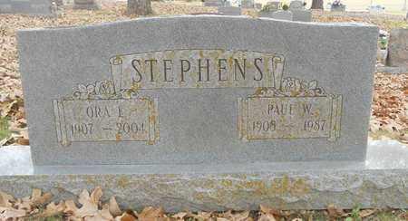 STEPHENS, ORA E. - Texas County, Missouri | ORA E. STEPHENS - Missouri Gravestone Photos