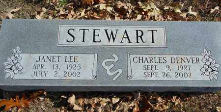 COLEMAN STEWART, JANET LEE - Texas County, Missouri | JANET LEE COLEMAN STEWART - Missouri Gravestone Photos