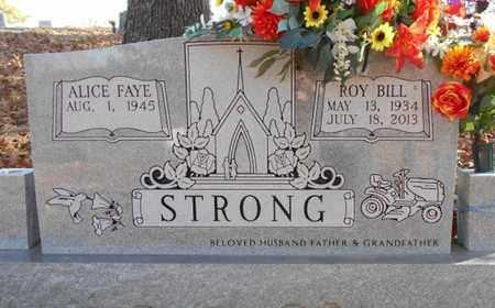 STRONG, ROY BILL - Texas County, Missouri   ROY BILL STRONG - Missouri Gravestone Photos