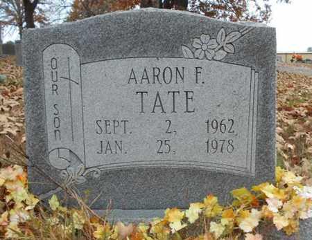 TATE, AARON F. - Texas County, Missouri | AARON F. TATE - Missouri Gravestone Photos