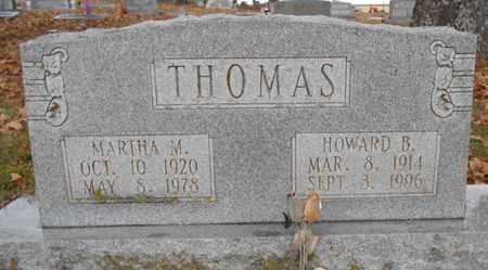 THOMAS, HOWARD B. - Texas County, Missouri | HOWARD B. THOMAS - Missouri Gravestone Photos