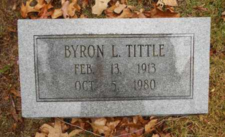 TITTLE, BYRON L. - Texas County, Missouri   BYRON L. TITTLE - Missouri Gravestone Photos