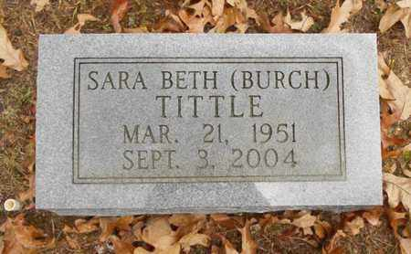 TITTLE, SARA BETH - Texas County, Missouri | SARA BETH TITTLE - Missouri Gravestone Photos