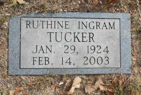 TUCKER, RUTHINE - Texas County, Missouri | RUTHINE TUCKER - Missouri Gravestone Photos