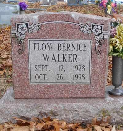 WALKER, FLOY BERNICE - Texas County, Missouri | FLOY BERNICE WALKER - Missouri Gravestone Photos