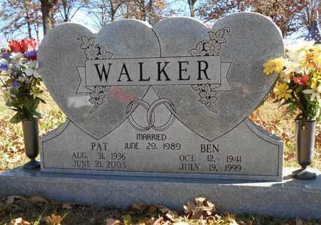 "WALKER, PRISCILLA ""PAT"" - Texas County, Missouri | PRISCILLA ""PAT"" WALKER - Missouri Gravestone Photos"