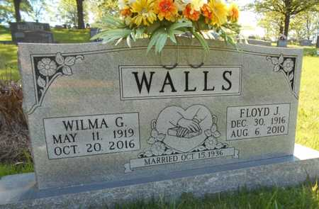 WALLS, FLOYD JESSE - Texas County, Missouri | FLOYD JESSE WALLS - Missouri Gravestone Photos