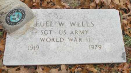 WELLS, EUEL W.  VETERAN WWII - Texas County, Missouri | EUEL W.  VETERAN WWII WELLS - Missouri Gravestone Photos