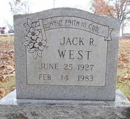 WEST, JACK R. - Texas County, Missouri   JACK R. WEST - Missouri Gravestone Photos