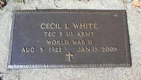 WHITE, CECIL L.  VETERAN WWII - Texas County, Missouri | CECIL L.  VETERAN WWII WHITE - Missouri Gravestone Photos