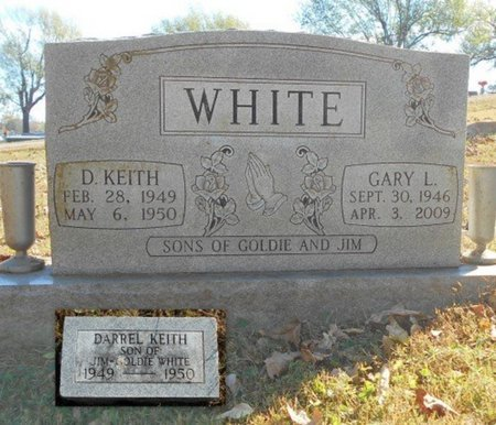 WHITE, GARY L. - Texas County, Missouri | GARY L. WHITE - Missouri Gravestone Photos