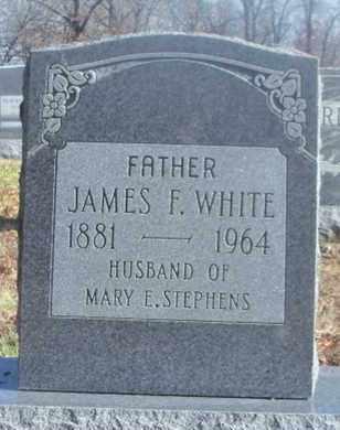 WHITE, JAMES F. - Texas County, Missouri | JAMES F. WHITE - Missouri Gravestone Photos
