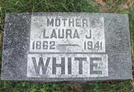 WHITE, LAURA JANE - Texas County, Missouri | LAURA JANE WHITE - Missouri Gravestone Photos