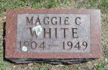 WHITE, MAGGIE CLEO - Texas County, Missouri | MAGGIE CLEO WHITE - Missouri Gravestone Photos