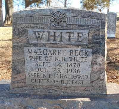 WHITE, MARY MARGARET - Texas County, Missouri | MARY MARGARET WHITE - Missouri Gravestone Photos