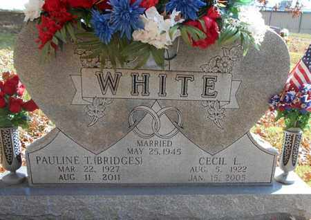 WHITE, CECIL L. - Texas County, Missouri | CECIL L. WHITE - Missouri Gravestone Photos