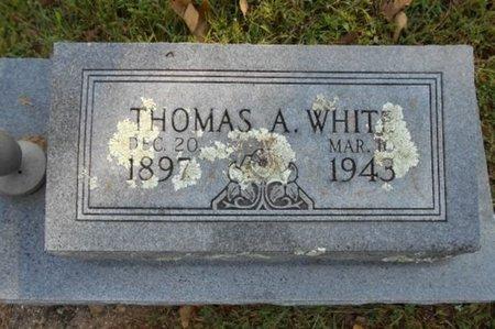 WHITE, THOMAS A. - Texas County, Missouri | THOMAS A. WHITE - Missouri Gravestone Photos