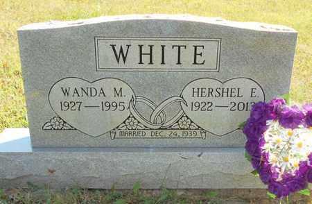 WHITE, WANDA M. - Texas County, Missouri | WANDA M. WHITE - Missouri Gravestone Photos