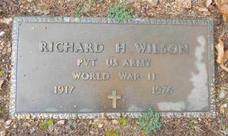 WILSON, RICHARD HOWARD  VETERAN WWII - Texas County, Missouri | RICHARD HOWARD  VETERAN WWII WILSON - Missouri Gravestone Photos