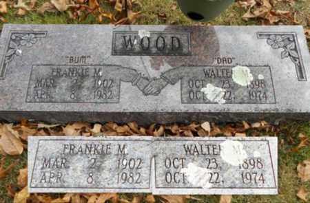 WOOD, FRANKIE M. - Texas County, Missouri | FRANKIE M. WOOD - Missouri Gravestone Photos