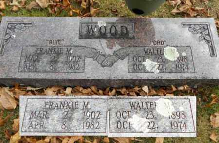 WOOD, FRANKIE M. - Texas County, Missouri | FRANKIE M. WOOD - Missouri Gravestone Photos