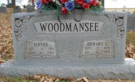 WOODMANSEE, HOWARD C. - Texas County, Missouri | HOWARD C. WOODMANSEE - Missouri Gravestone Photos