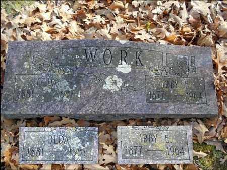 WORK, IRBY E. - Texas County, Missouri | IRBY E. WORK - Missouri Gravestone Photos