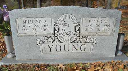 YOUNG, MILDRED A. - Texas County, Missouri | MILDRED A. YOUNG - Missouri Gravestone Photos