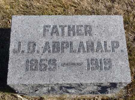 ABPLANALP, JACOB DANIEL - Worth County, Missouri   JACOB DANIEL ABPLANALP - Missouri Gravestone Photos