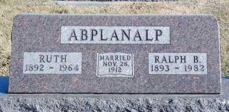 ABPLANALP, RUTH - Worth County, Missouri   RUTH ABPLANALP - Missouri Gravestone Photos