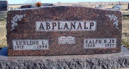 ABPLANALP, LURLINE L. - Worth County, Missouri   LURLINE L. ABPLANALP - Missouri Gravestone Photos