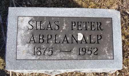 ABPLANALP, SILAS PETER - Worth County, Missouri | SILAS PETER ABPLANALP - Missouri Gravestone Photos