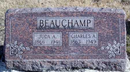 "BEAUCHAMP, JUDA A, ""JULIA"" - Worth County, Missouri | JUDA A, ""JULIA"" BEAUCHAMP - Missouri Gravestone Photos"