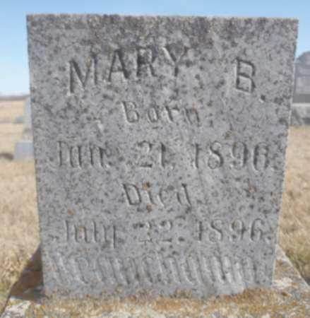 BEAUCHAMP, MARY B. - Worth County, Missouri | MARY B. BEAUCHAMP - Missouri Gravestone Photos